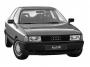 Оптика и кузовные детали на Audi 80 b3 c 1986г по 1991 г
