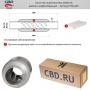 Пламегаситель (Стронгер) 45300.76 жаброобразный внутренний узел диам. 45 мм / длинна 300 мм)